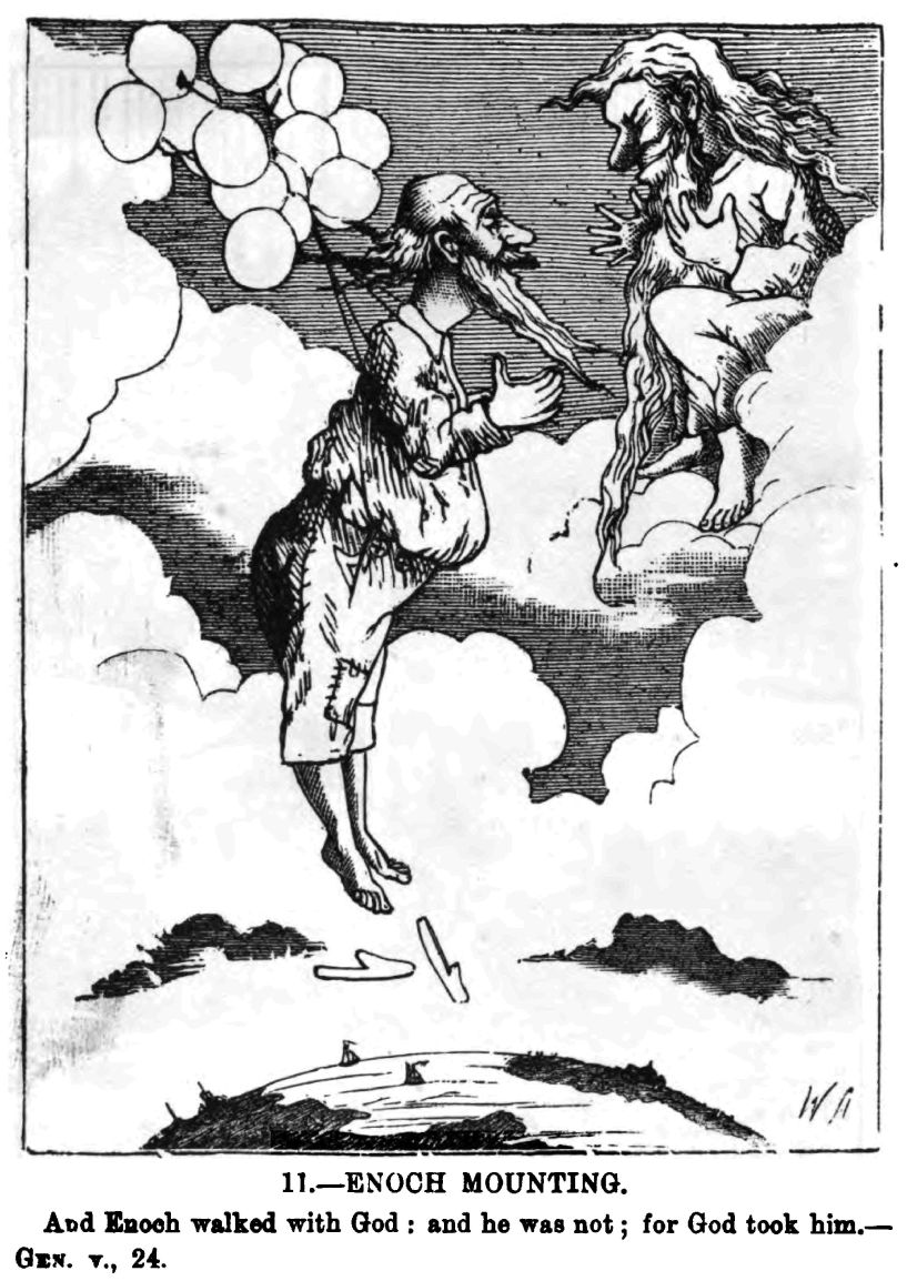 g w foote comic bible sketches 1885